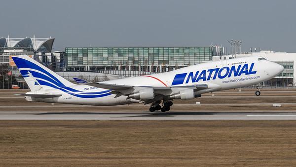 National Airlines / Boeing B747-412BCF / N756CA