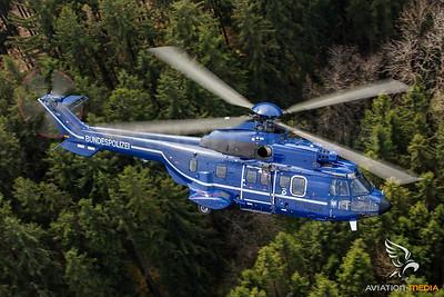 Bundespolizei Super Puma D-HEGW
