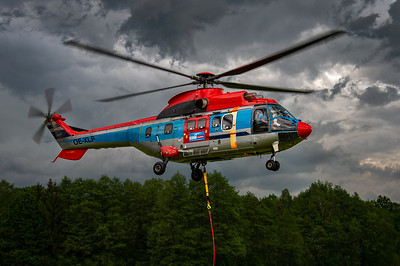 Heli Austria / AS332 Super Puma / OE-XLP