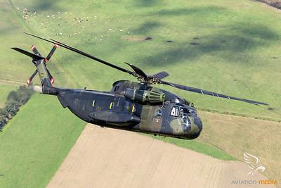German Air Force  CH-53G 84+90