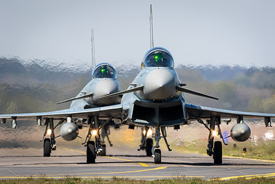 Germany Air Force / Eurofighter / 30+95