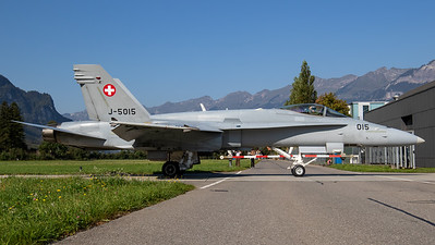 Swiss Air Force McDonnell Douglas F/A-18C Hornet J-5015