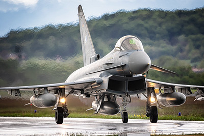 German AIr Force / Eurofighter / 30+45