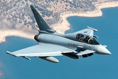 Germany - Air Force   Eurofighter Typhoon EF2000(T)   31+28