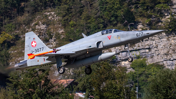 Swiss Air Force Northrop F-5E Tiger II J-3077