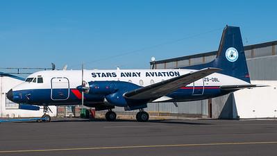 Stars Away Aviation HS-748 ZS-DBL