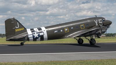 "Mission Bosten D-Day ""Virginia Ann"" / Douglas C-47A / N62CC 43-30647"