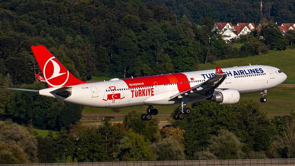 Turkish Airlines (Football EM livery) A330-300 TC-LND