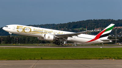 Emirates (50 years livery) Boeing B777-300 A6-EQM