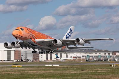 All Nippon Airways (ANA) / Airbus A380-800 / F-WWAL