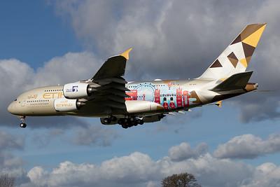 Etihad Airways / Airbus A380 / A6-APE / Choose the United Kingdom