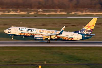 SunExpress Germany / Boeing 737-800 / D-ASXP