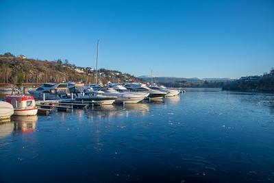 Vinter i BM havn