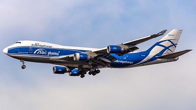 Air Bridge Cargo - ABC Boeing B747-400 (ABC Pharma titles) VP-BIM