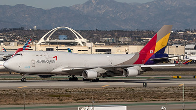 Asiana Airlines Cargo Boeing B747-400 HL7618