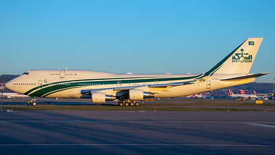 Kingdom Holding (Saudi Arabia) Boeing B747-400 HZ-WBT7