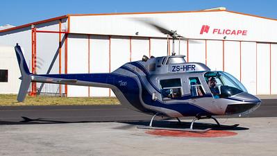 Heli Aviation CapeTown Bell 206B Jet Ranger II ZS-HFR