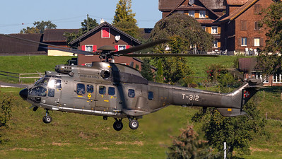 Swiss Air Force Eurocopter AS. 332M1 SP T-312