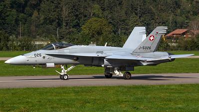 Swiss Air Force McDonnell Douglas F/A-18C Hornet J-5026