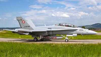 Swiss Air Force McDonnell Douglas F/A-18D Hornet J-5236