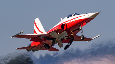 Swiss Air Force Northrop F-5E Tiger II J-3084