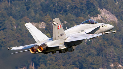 Swiss Air Force McDonnell Douglas F/A-18C Hornet J-5024