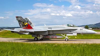 Swiss Air Force McDonnell Douglas F/A-18C Hornet J-5017