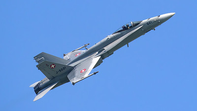 Swiss Air Force McDonnell Douglas F/A-18C Hornet J-5021