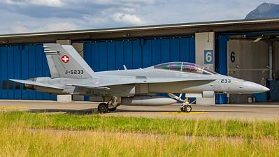 Swiss Air Force McDonnell Douglas F/A-18C Hornet J-5233
