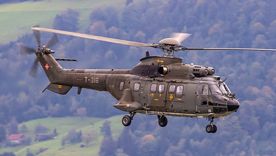 Swiss Air Force Eurocopter AS. 332M1 SP T-316