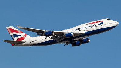 British Airways Boeing B747-400 G-CIVR