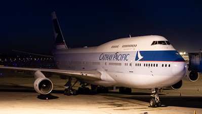Cathay Pacific Boeing B747-400