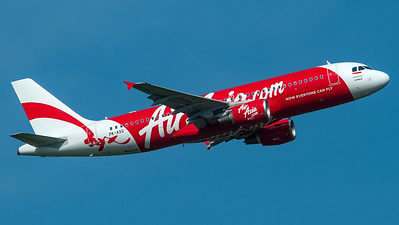 Air Asia Indonesia Airbus A320 PK-AXG