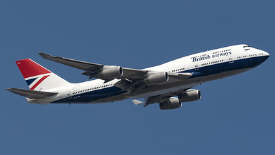 British Airways (Negus retro livery) Boeing B747-400 G-CIVB
