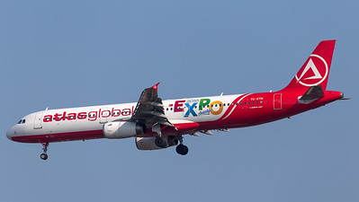 Atlas Global Airbus A321 TC-ETN - 2016 EXPO Antalya livery