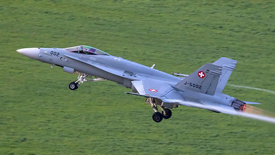 Swiss Air Force McDonnell Douglas F/A-18C Hornet J-5002