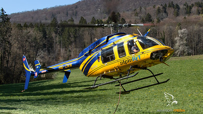 Alpin Lift Helikopter AG (Switzerland) Bell 407-GX HB-ZNW