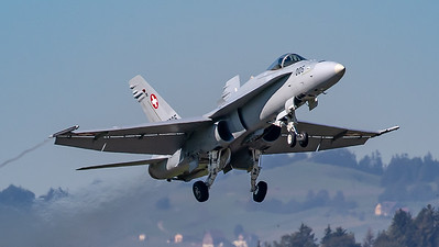 Swiss Air Force McDonnell Douglas F/A-18C Hornet J-5005