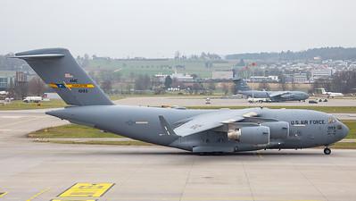 US Air Force Boeing C-17A Globemaster III 01-0193