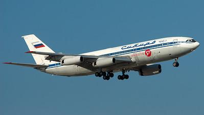 S7 Airlines (Sibir) Ilyushin IL86 RA-86104