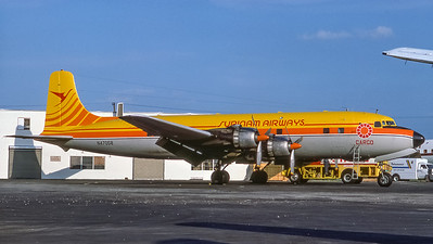 Surinam Airways Cargo Douglas DC6 N47058