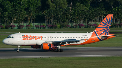 Indian Airbus A320 VT-ESL
