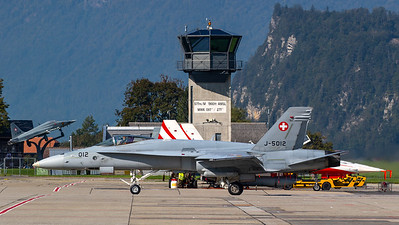 Swiss Air Force McDonnell Douglas F/A-18C Hornet J-5012