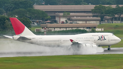 Japan Airlines - JAL Boeing B747-400 JA8071