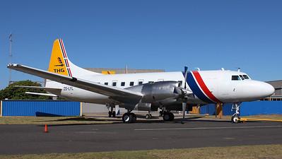 THG Aviation CV-580 ZS-LYL
