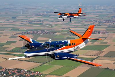 Technische Universität Braunschweig / Reims-Cessna F406 Caravan II  & Dornier Do-128-6 Turbo Skyservant/ D-ILAB & D-IBUF