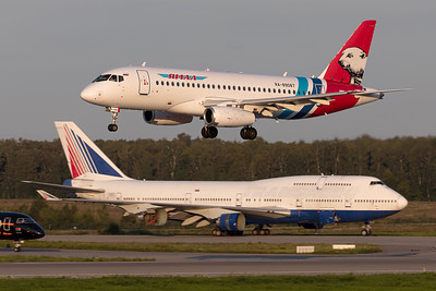 Yamal Airlines / Sukhoi Superjet 100-95LR / RA-89087