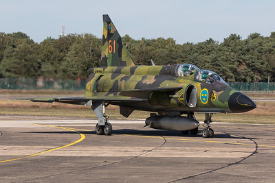 Swedish Airforce Historic Flight / Saab Sk37E Viggen / SE-DXO