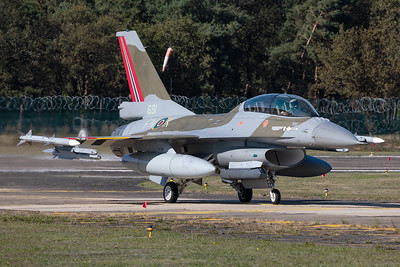 Norway Air Force / General Dynamics F-16BM  / 691