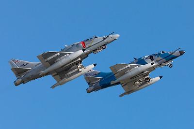 Top Aces / McDonnell Douglas A-4N Skyhawk / C-FGZH & C-FGZS